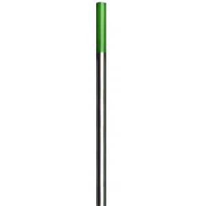 10 elettrodi al tungsteno verdi 175 mm per saldatura TIG alluminio