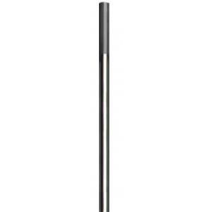 10 elettrodi Tungsteno ceriato grigio per saldatura TIG acciaio-acciaio inox lunghezza 175 mm