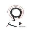 Torcia TIG 17, 140 A Trafimet connettore 25 mm²