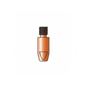 10 tubetti di contatto TRAFIMET per saldatura alluminio M8