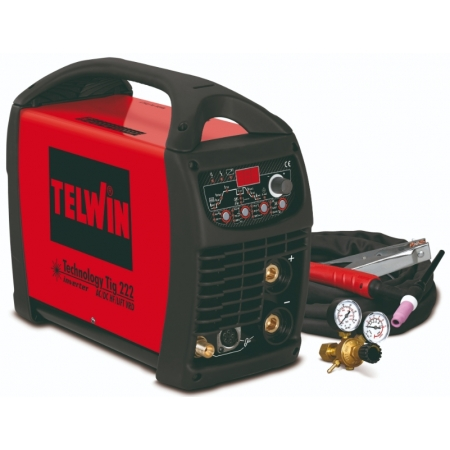 TELWIN Technology Tig 222 AC / DC   Saldatrice Tig