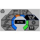 Saldatrice Multiprocesso Esab Rebel EMP 205ic AC-DC (MMA, MIG MAG, TIG)