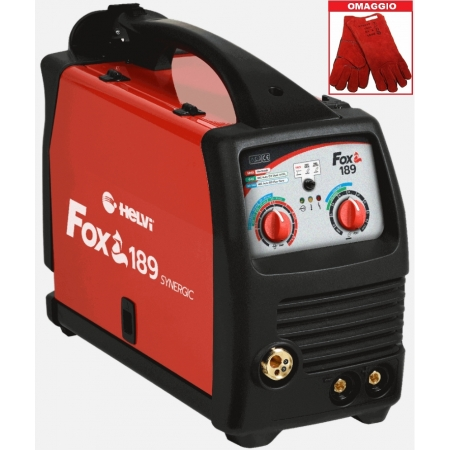 Saldatrice Multiprocesso HELVI FOX 189 (MMA, MIG MAG)