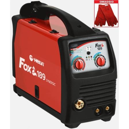 Saldatrice Multiprocesso HELVI FOX 189 (MMA, MIG MAG) + Omaggio