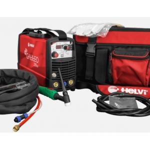 Saldatrice TIG Helvi Galileo 219HF con kit borsa accessori