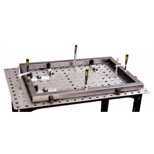 Tavolo modulare di saldatura