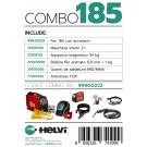 Saldatrice Multiprocesso Helvi Fox 185 Combo
