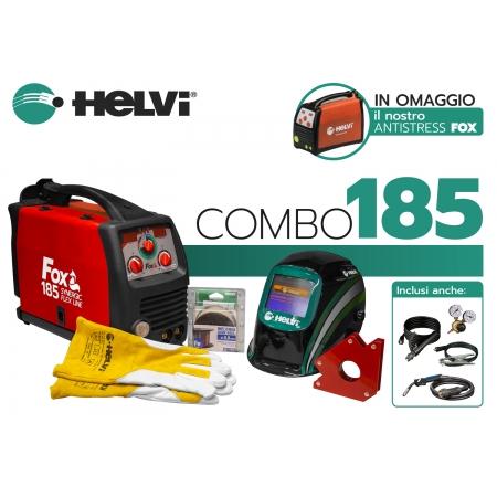 Helvi Fox 185 Combo | Saldatrice Multiprocesso (MMA, MIG MAG, TIG)