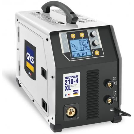 GYS Multipearl 210-4 XL | Saldatrice Multiprocesso (MMA, MIG MAG, TIG)