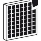 Filtro carboni attivi per Aspiratore AER201